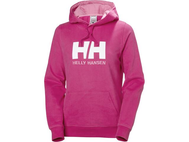 Helly Hansen HH Logo Hoodie Damen dragon fruit